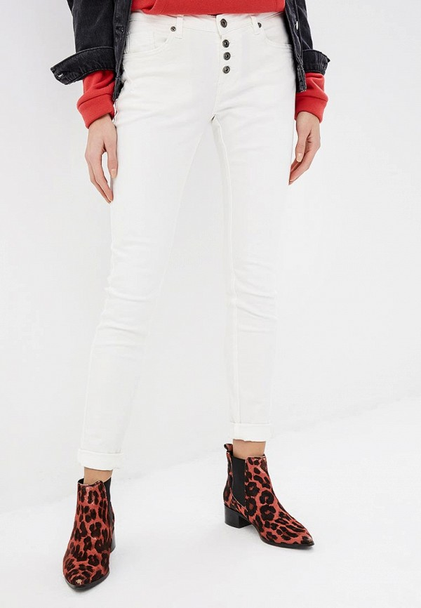 женские джинсы blue monkey, белые