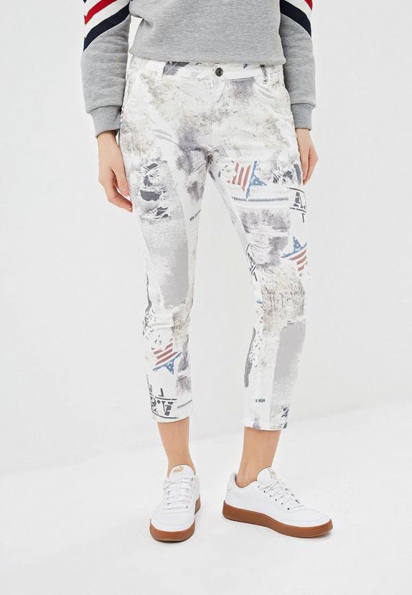 женские повседневные брюки blue monkey, бежевые