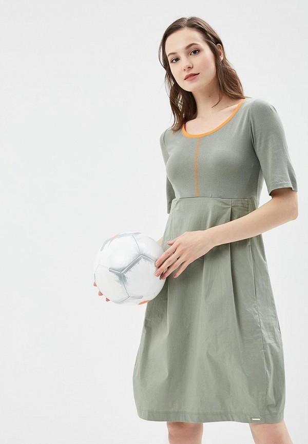 Купить Платье Vemina City Lisa Romanyk, MP002XW190KY, зеленый, Весна-лето 2018