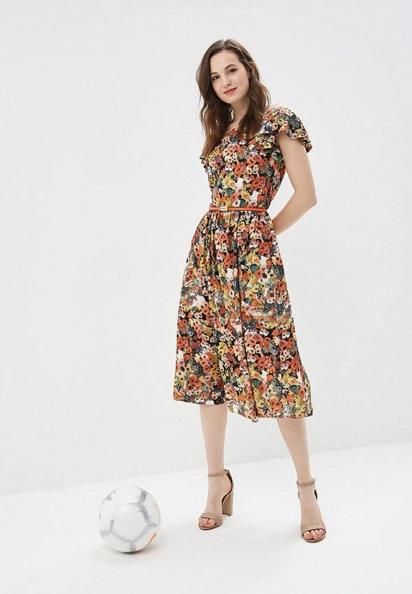 Купить Платье Vemina City Lisa Romanyk, MP002XW190L5, оранжевый, Весна-лето 2018