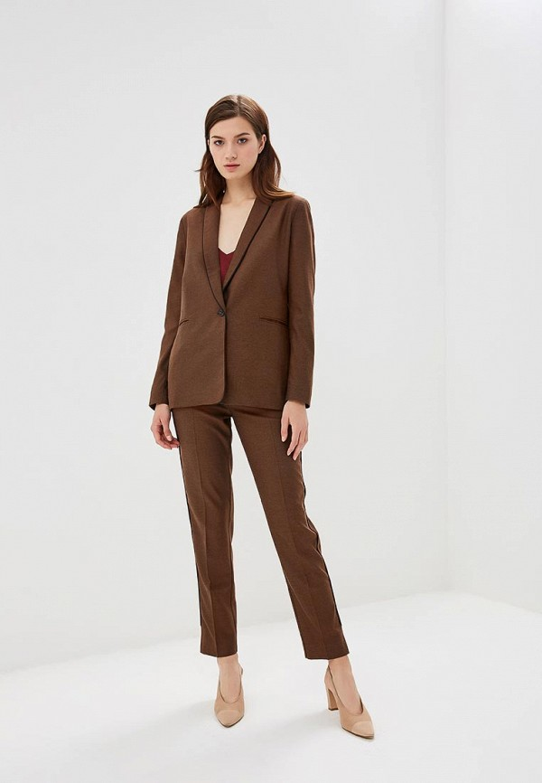 женский классические костюм yansstudio, коричневый