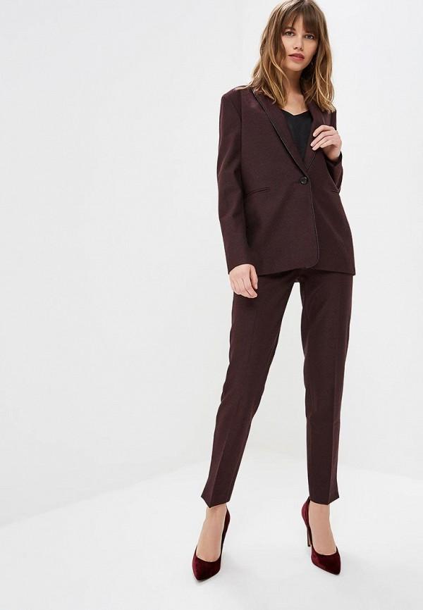 женский классические костюм yansstudio, бордовый
