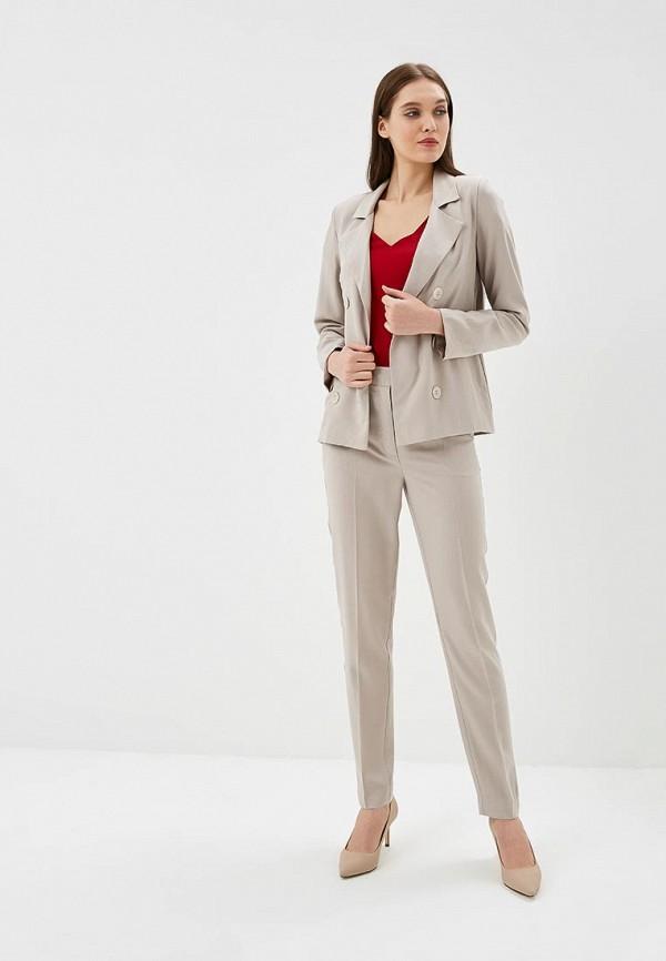 женский костюм yansstudio, бежевый