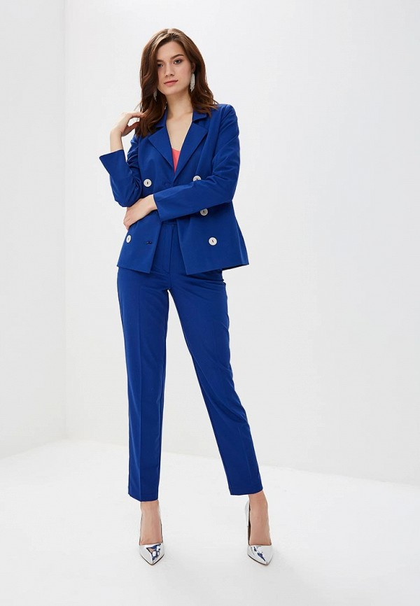 женский костюм yansstudio, синий