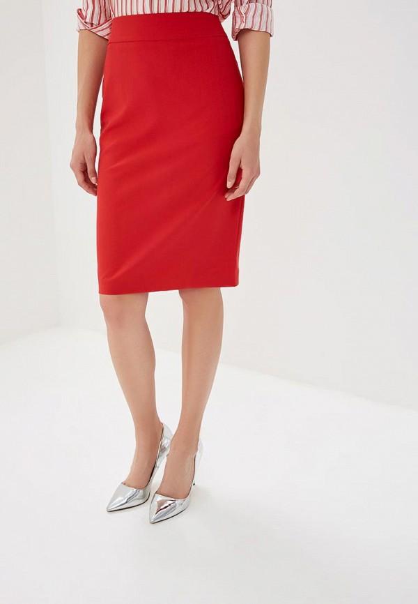 женская зауженные юбка yansstudio, красная