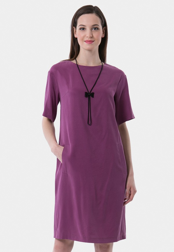 женское платье vladi collection, фиолетовое