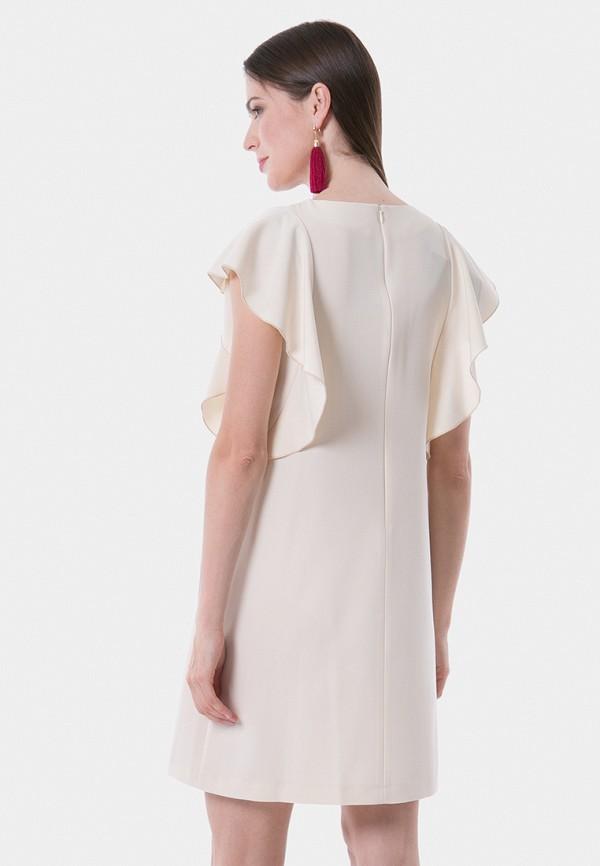 Фото 3 - Женское вечернее платье Vladi Collection белого цвета