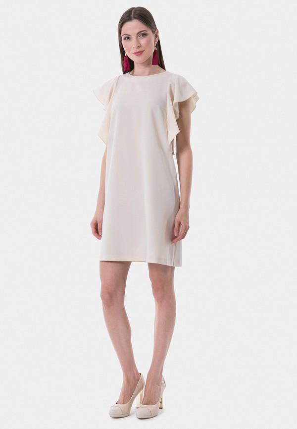 Фото 2 - Женское вечернее платье Vladi Collection белого цвета