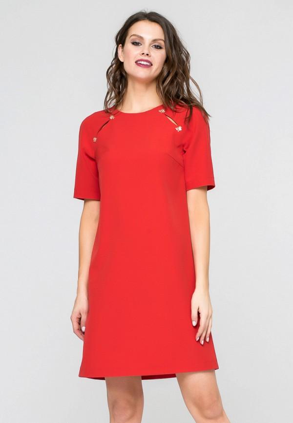 Купить Платье Yulia'Sway, MP002XW190XA, красный, Весна-лето 2018