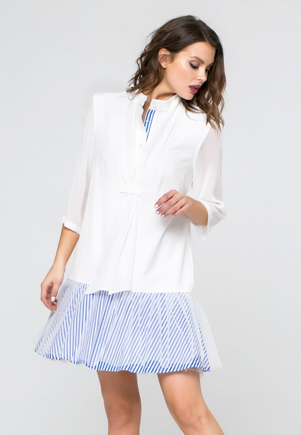 Купить Платье Yulia'Sway, MP002XW190XH, белый, Весна-лето 2018