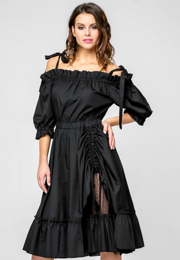 Купить Платье Yulia'Sway, MP002XW190XM, черный, Весна-лето 2018