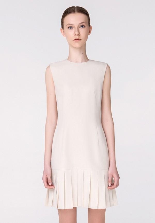 женское повседневные платье minimally, бежевое