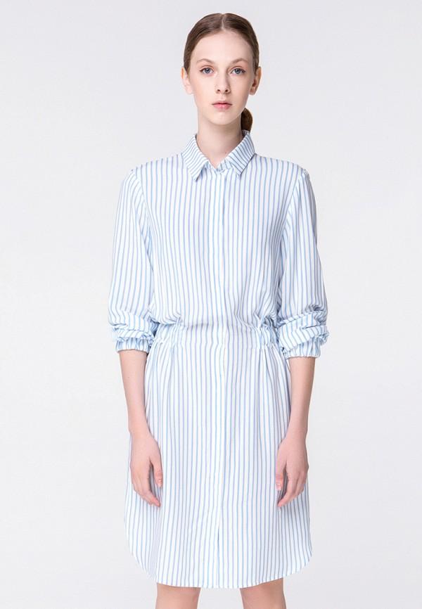 женское повседневные платье minimally, белое