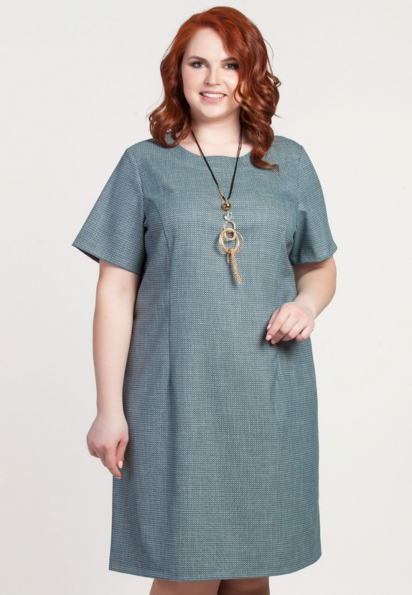 Купить Платье Olga Peltek, mp002xw190ys, зеленый, Весна-лето 2018
