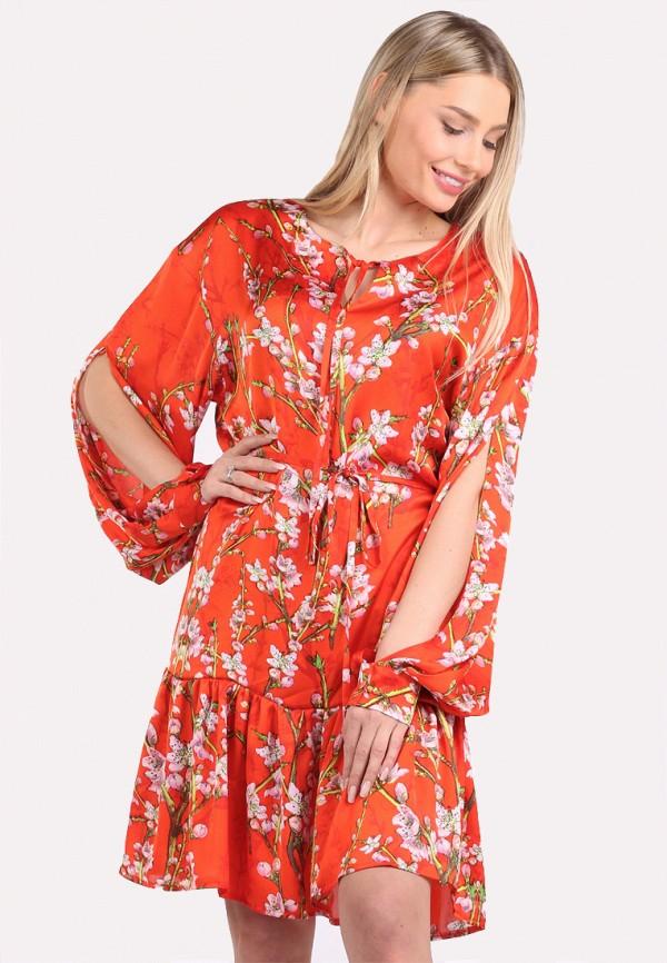 женское повседневные платье panove, красное