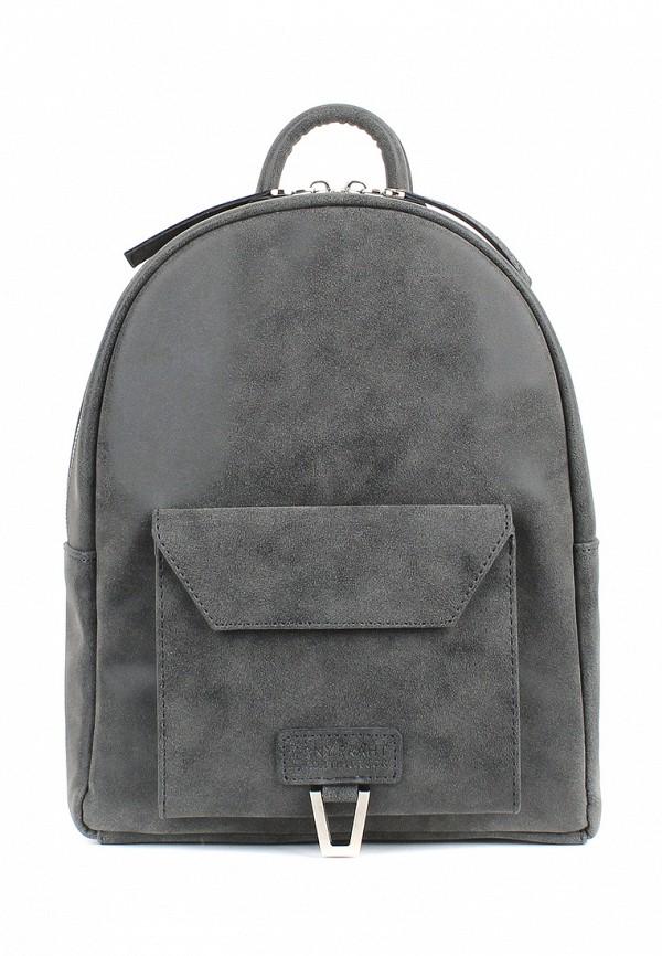 женский рюкзак arny praht, серый