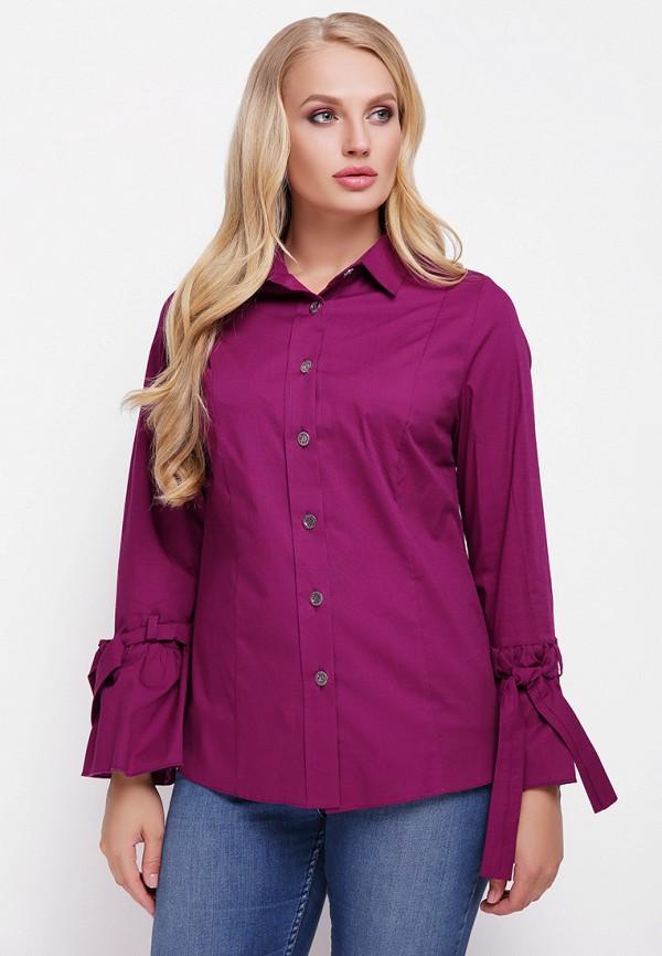 женская блузка vlavi, фиолетовая