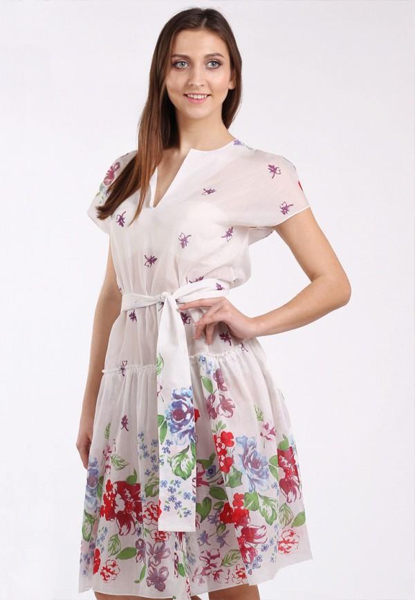 женское платье мини panove, белое