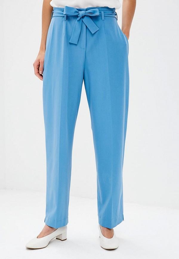 женские прямые брюки nastasia sabio, голубые