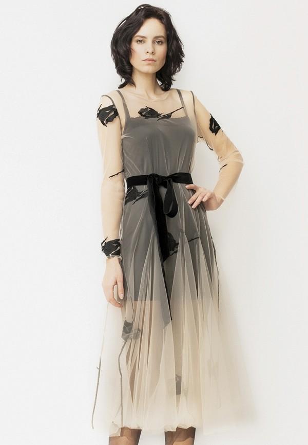 Платье Yusko Yusko MP002XW192LA топ yusko yusko mp002xw192l3