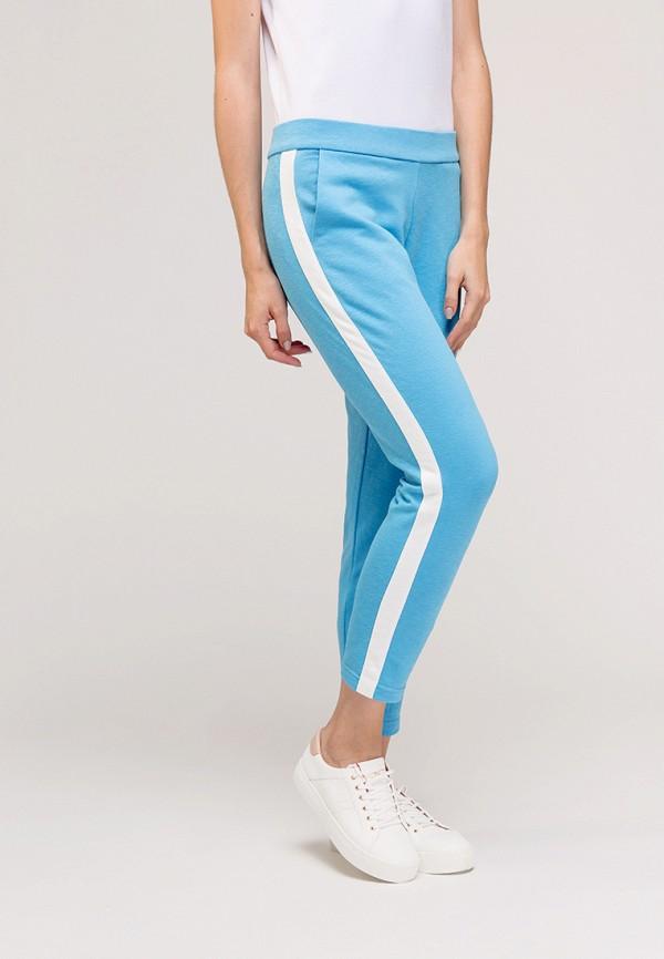 женские спортивные спортивные брюки gee!, голубые