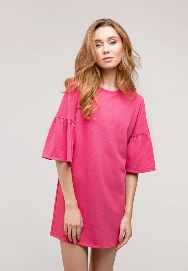 женское повседневные платье gee!, розовое