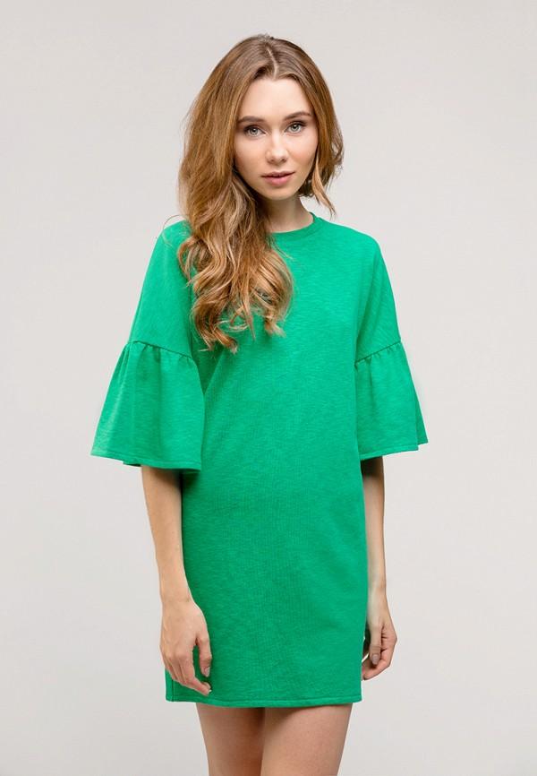 женское повседневные платье gee!, зеленое