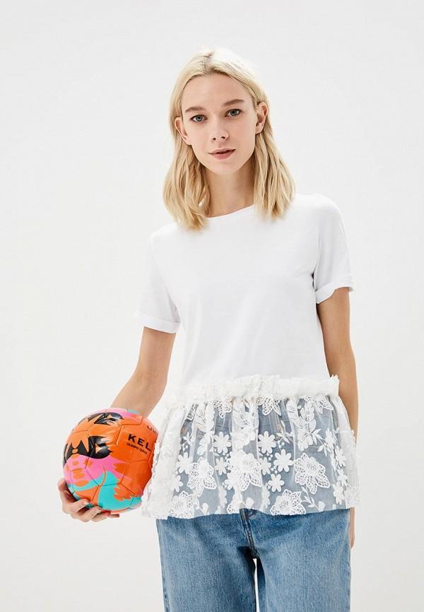 Купить Футболка Fashion.Love.Story, MP002XW192T3, белый, Весна-лето 2018