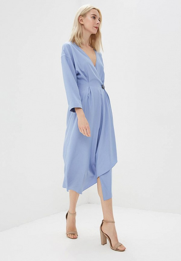 женское платье ruxara, голубое