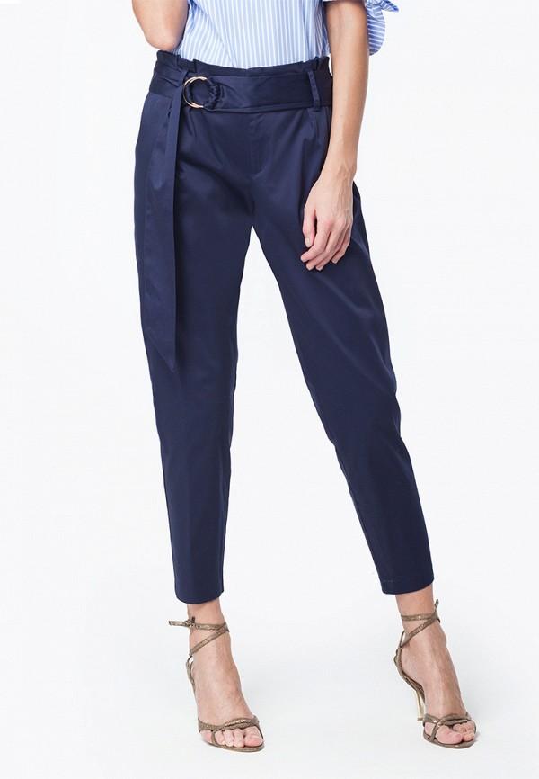 женские зауженные брюки vilatte, синие