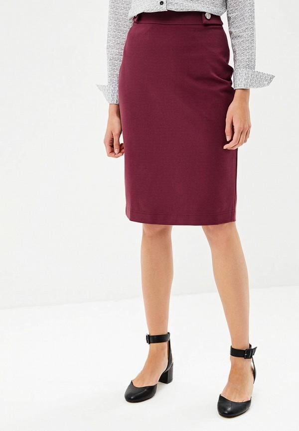 женская зауженные юбка annborg, бордовая