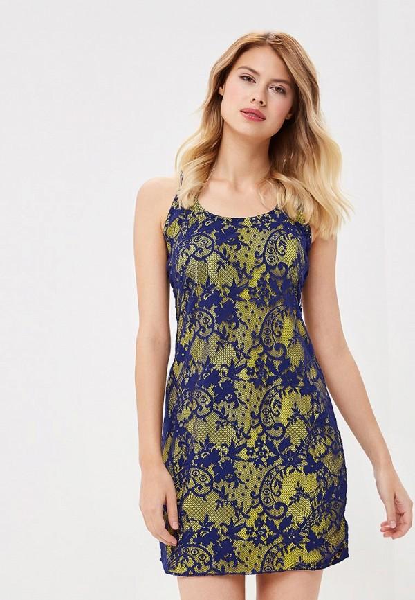 женское платье amarea, желтое
