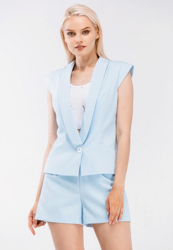 Купить Жилет Mayomay, MP002XW193PW, голубой, Весна-лето 2018