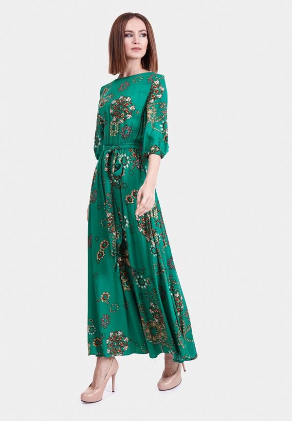 женское платье vladi collection, зеленое