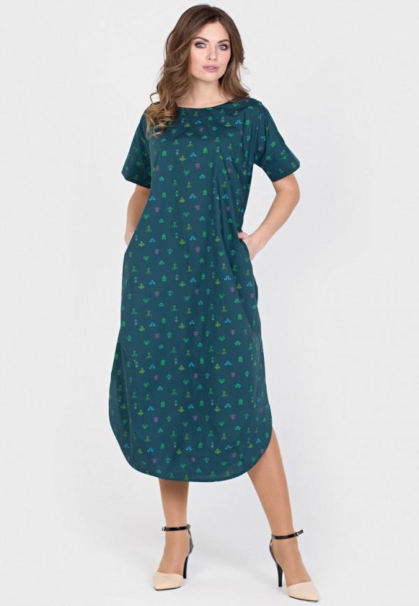Фото - Женское платье Filigrana бирюзового цвета