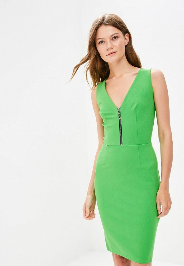 Фото - Женское платье Gorchica зеленого цвета