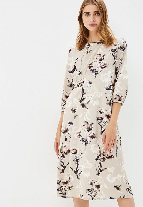 Купить Платье BURLO, MP002XW193XC, бежевый, Весна-лето 2018