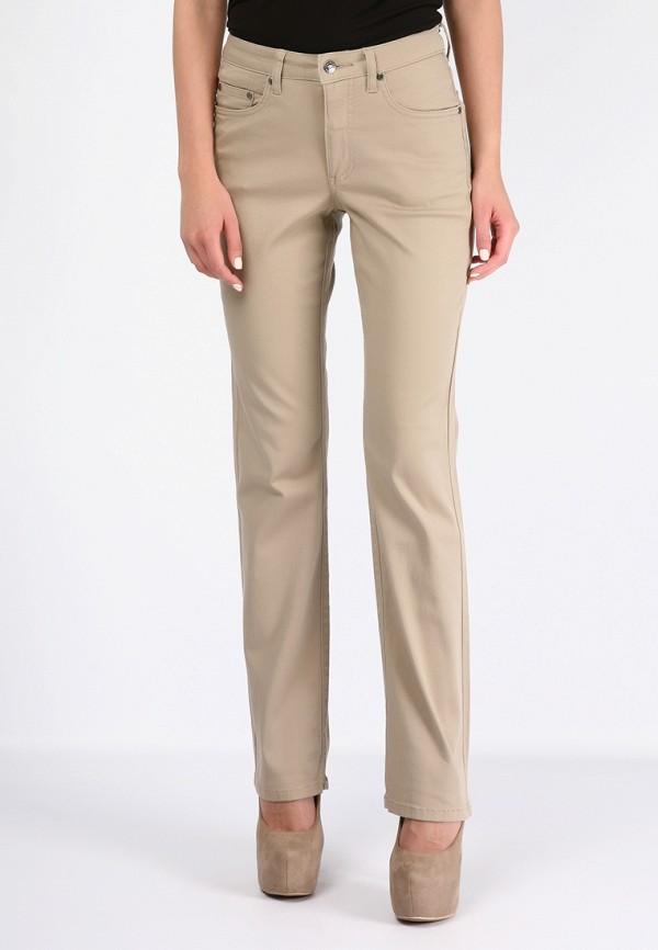 женские прямые брюки montana, бежевые