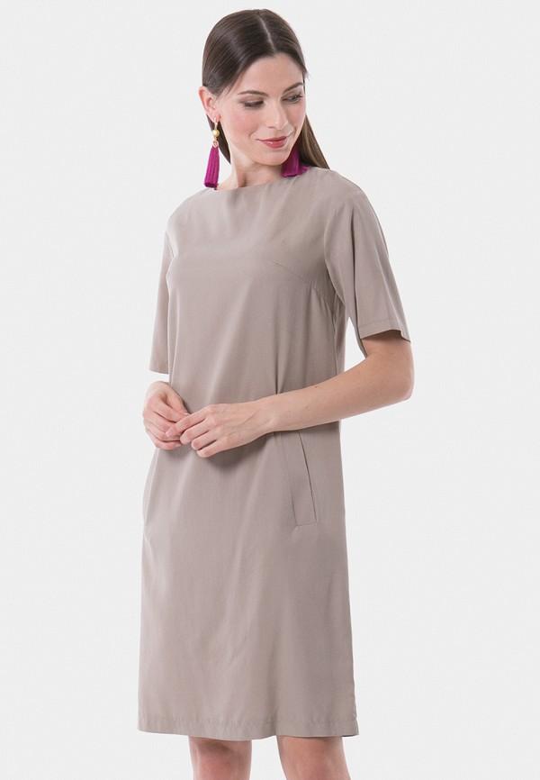 женское платье vladi collection, бежевое