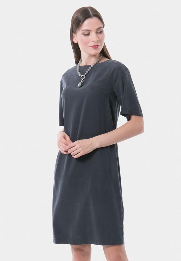 женское платье vladi collection, серое