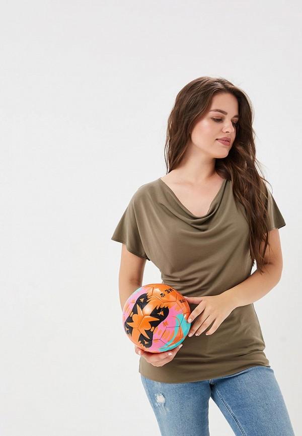 Купить Блуза Liora, MP002XW1944J, хаки, Весна-лето 2018