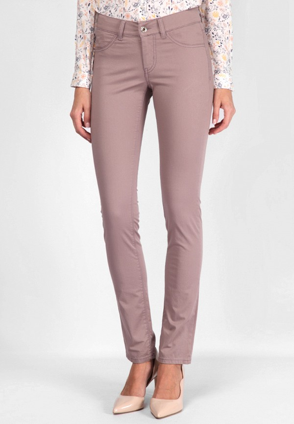 женские брюки lagrand, розовые