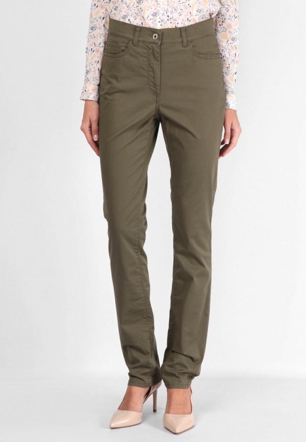 женские прямые брюки lagrand, хаки