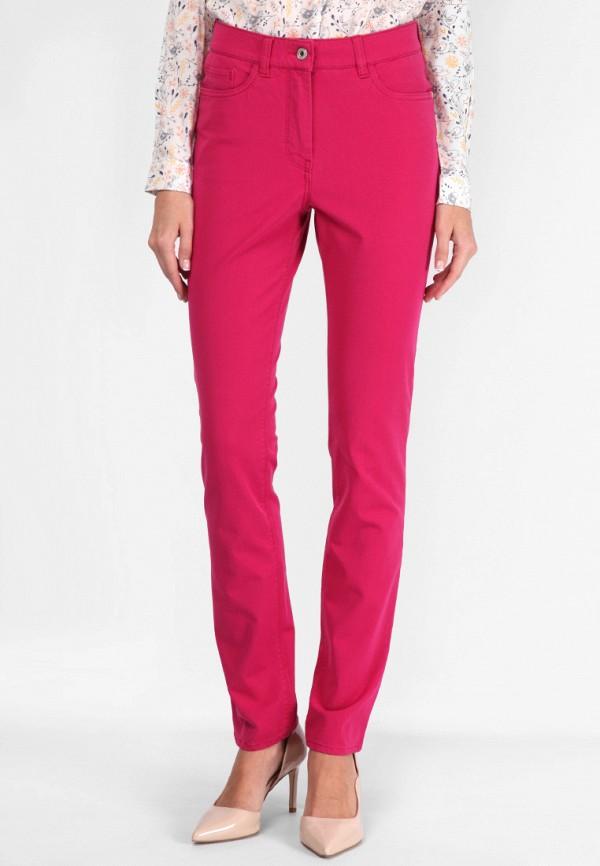 женские прямые брюки lagrand, розовые