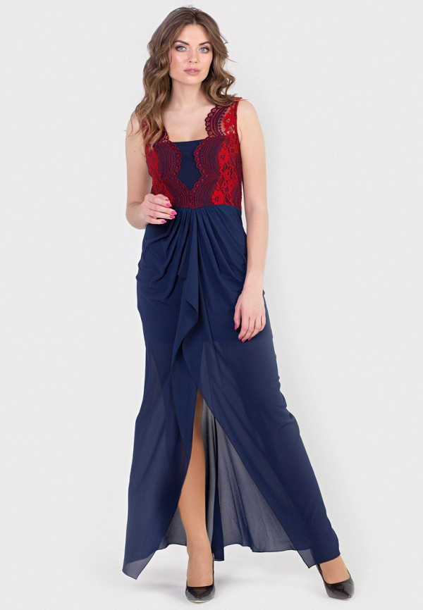 Купить Платье Filigrana, MP002XW194L6, синий, Весна-лето 2018