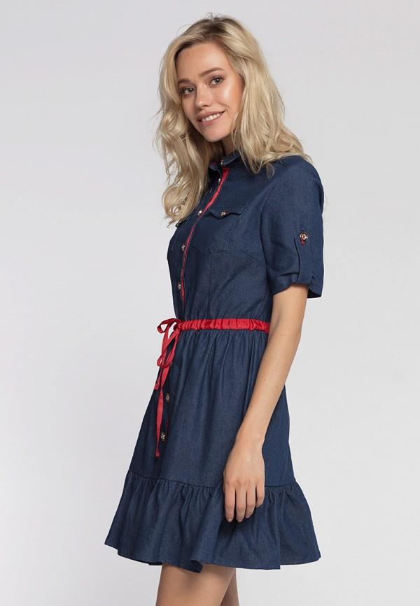 Фото - Платье джинсовое Lezzarine Lezzarine MP002XW194M1 юбка lezzarine lezzarine mp002xw18u0k