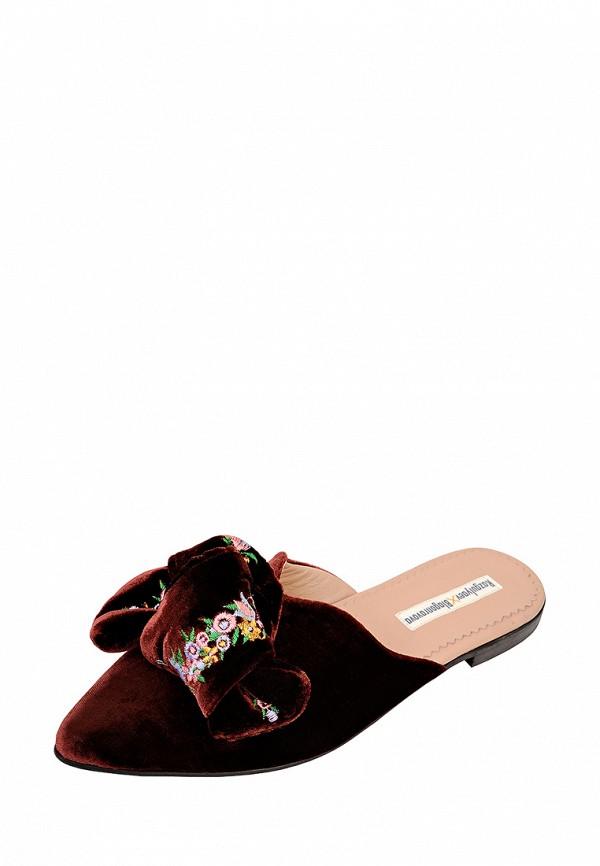 женские туфли razgulyaev blagonravova, бордовые