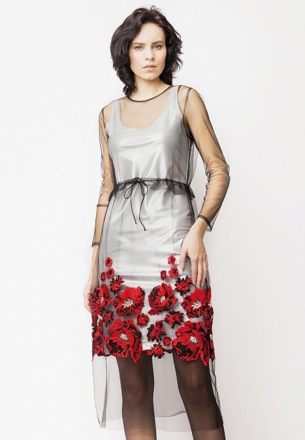 Платье Yusko Yusko MP002XW194VB топ yusko yusko mp002xw192l3