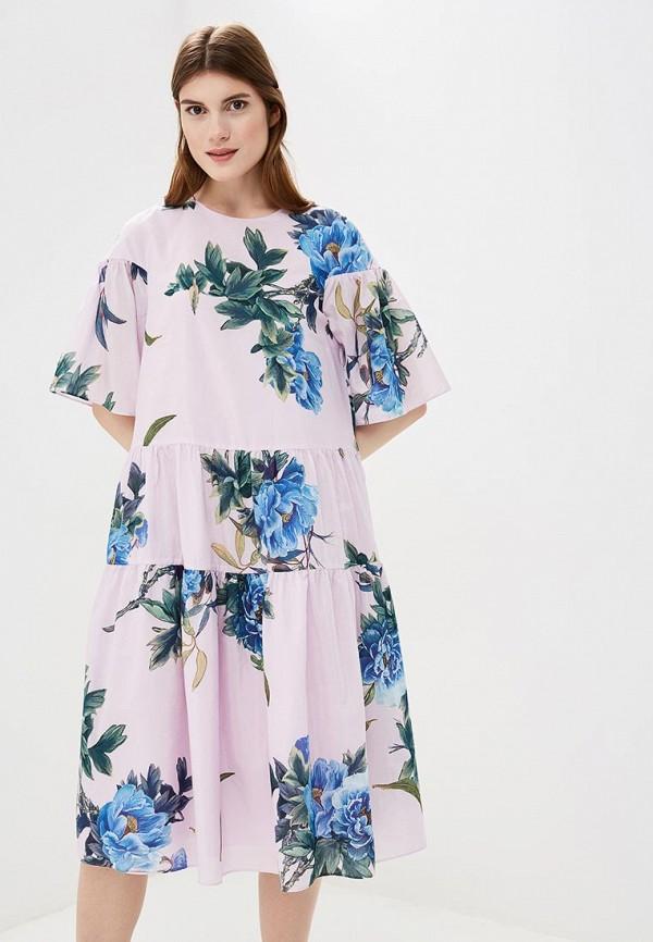Купить Платье Akhmadullina Dreams, MP002XW195G7, фиолетовый, Весна-лето 2018