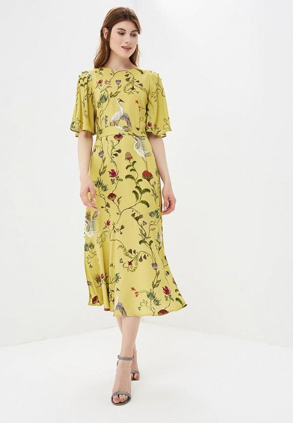Платье Akhmadullina Dreams, MP002XW195GD, желтый, Весна-лето 2018  - купить со скидкой